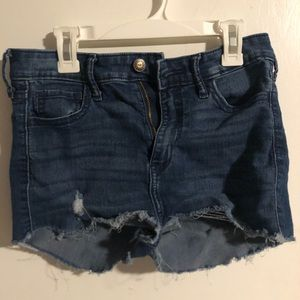 Hollister Self cut shorts